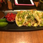 """The FISH Tacos with """"Candied Fresno"""" peppers"""