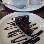 Vegan Chocolate & Cherry cake was superb, a bit bigger would eb better