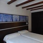 Hotel Rey Sancho, Navarete (La Rioja), Espagne.