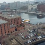 Showing the location of the Yellow Sub from the Liverpool Wheel.