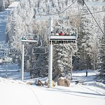New for winter 2016-17 Grand Canyon Express high-speed six-person lift at Arizona Snowbowl!