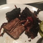 Smoked ribs and burnt ends!