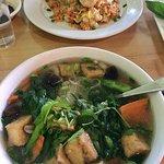 Vegetable Pho & Vietnamese Chicken Fried Rice