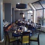 Salle de restaurant.