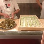 you get to watch them make the dumplings