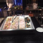 Seafood buffet choices