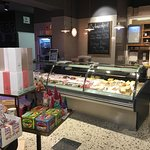 Cheese and deli counter