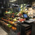 Greengrocery section