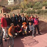 our amazing team of guides at Jamal's lovely guest house in Imlil