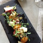 Heirloom Beet Salad with Goat Cheese