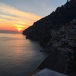 Sunset every night....Positano village