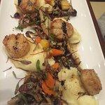 Scallop dish - beautiful plating