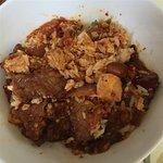 Sichuan Pavilion's Ma Po Tofu and Kung Pao Beef