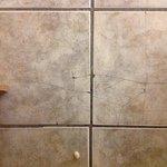 Broken tiles - more than this photo