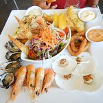 Most expensive seafood platter.