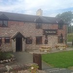 a warm cosy country pub/restaurant in the beautiful village of treflach with stunning veiws