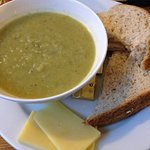 Leek soup sorts the Welsh from the English!