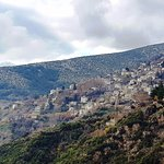View of Makrinitsa from Portaria