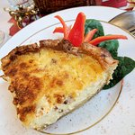 The best quiche lorraine I've ever had! Like, seriously.