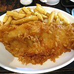 Typical fish and chips