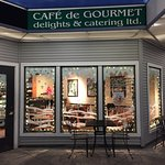 This wonderful spot is now called Cafe de Gourmet.