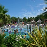 la piscine du camping OYAM Bidart (Pays Basque)