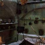 Erinnerung an das alte Dominikanerinnenkloster Klosterküche