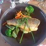 Filet de Bar et ses légumes printaniers