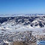 View of Colorado Springs below