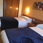Habitación triple con cama de matrimonio (1,50m) y cama individual (1,05m)