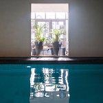 la piscine interieure 8x4m