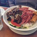 Vietnames Grill over vermicelli