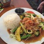 Seafood Stir-fried