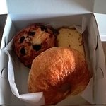 Breakfast pastry box from the Inn