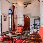 Salon suite Paprika Riad Jamaï