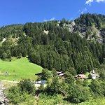 Der kleine Walserort Sankt Martin im Calfeisental
