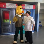 Cooking for the Sesame street crew