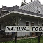Natural food store inside.