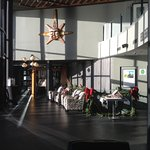 The Lobby of the Black Rock Resort