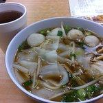 Chaozhou Fishball Flat Rice Noodle