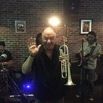 Steve Cannon, trumpet virtuoso.