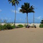 The quite beach