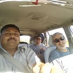Pratap, our driver, taking us to our next destination.