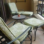 Comfortable balcony furniture