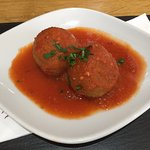 Arancini (stuffed rice balls)