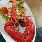 """Special in the season """"Canadian Prawns"""" (alive)"""