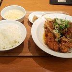 油淋鶏定食セット