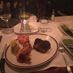 Chop's 8oz Bone-In Filet Mignon with Fried Lobster Tail