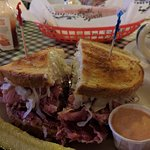 My Ruben sandwich was a classic hit done Primos style
