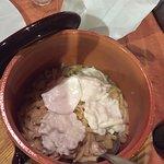 pasta patate provola funghi porcini salsiccia